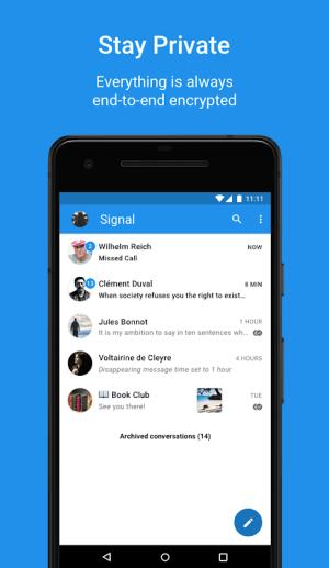 Signal Private Messenger 4.43.8 Screen 2