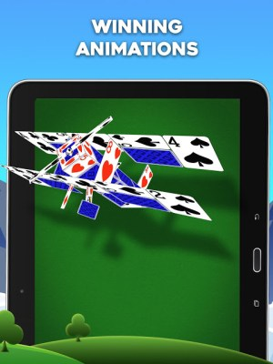 Android Spider Solitaire Screen 1