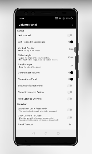 Volume Control Panel Pro 11.10 Screen 4