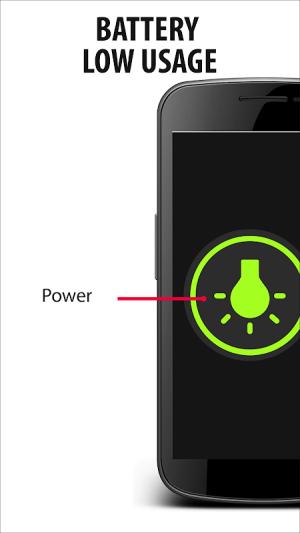 Android Flashlight Widget - Original Screen 1