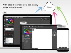 Android MediBang Paint - drawing Screen 3