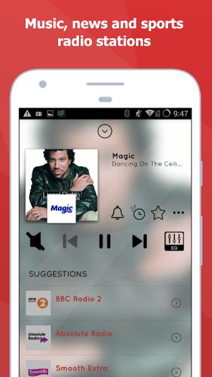 myTuner Radio - Free FM Radio 7.9.48c Screen 2