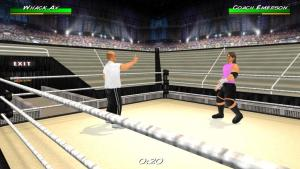 Android Wrestling Revolution 3D Screen 4