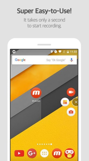 Mobizen Screen Recorder - Record, Capture, Edit 3.7.4.11 Screen 5