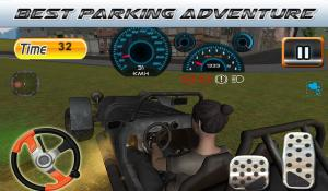 Android Parking Revolution: Super Car Offroad Hilly Driver Screen 13