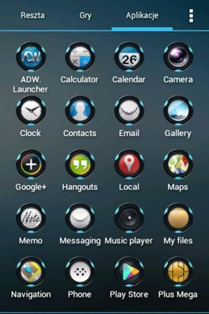 Android Futurounds Theme - icon pack Screen 3