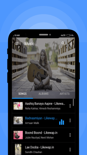 Music Player 1.0.4 Screen 2
