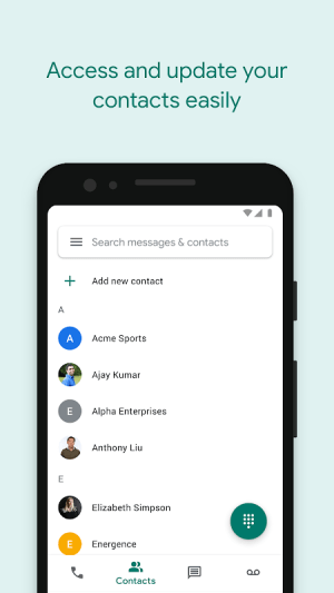 Google Voice 2020.06.291499052 Screen 5