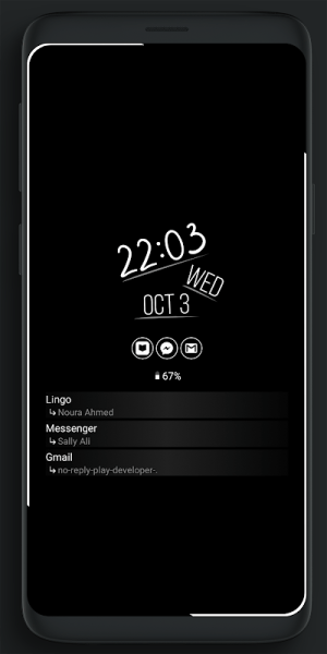 Always On Edge - LED light & AOD & Wallpapers 5.9.3 Screen 1