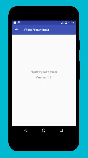 Phone Factory Reset 1.7 Screen 4