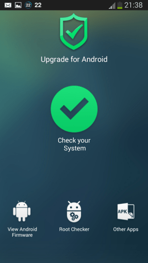 Upgrade for Android Pro Tool 1.2.0 Screen 1