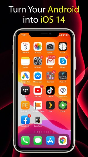 Launcher iOS 14 6.1.7 Screen 5