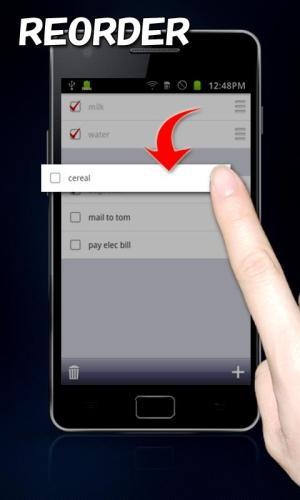 Simplest Checklist(check list) 6.3 Screen 1