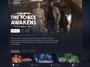 Disney+ 1.7.0 Screen 2