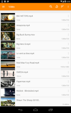 VLC for Android 3.3.0 Beta 7 Screen 19