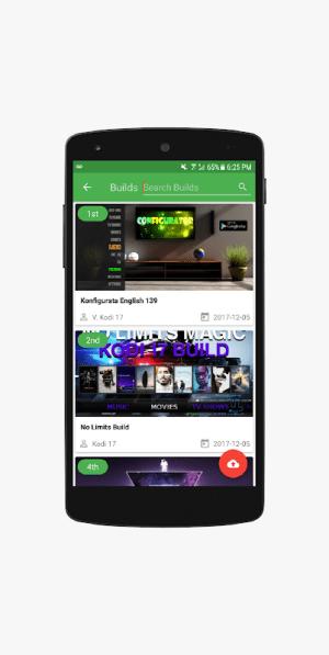 Android Configurator for Kodi - Complete Kodi Setup Wizard Screen 1