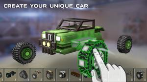 Blocky Cars - Online Shooting Games 7.3.11c Screen 1