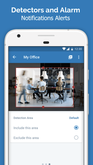 Cawice - Free Home Security Camera App for Android 1.4 Screen 4