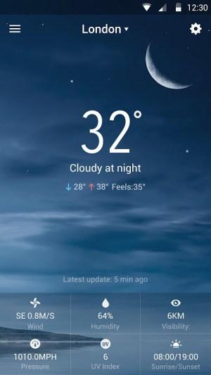 Sense Flip Clock & Weather 8.3.2.1058_release Screen 5