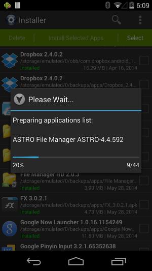 Installer Pro - Install APK 3.5.0 Screen 3