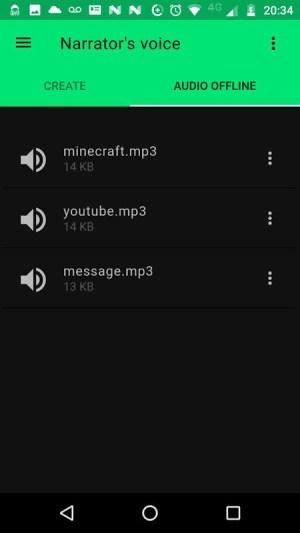 Narrator's Voice 9.0.23 Screen 2