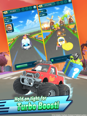 Android Oddbods Turbo Run Screen 8