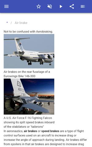 Construction of aircraft 8.5.4 Screen 8