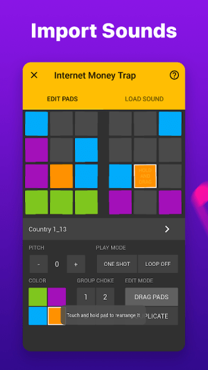 Android Drum Pads 24 - Music Maker Screen 13