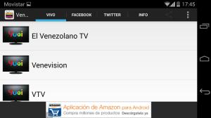 Android Venezuela Television Screen 3