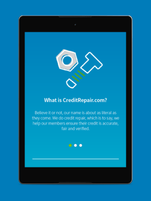 CreditRepair 2.1.15 Screen 1