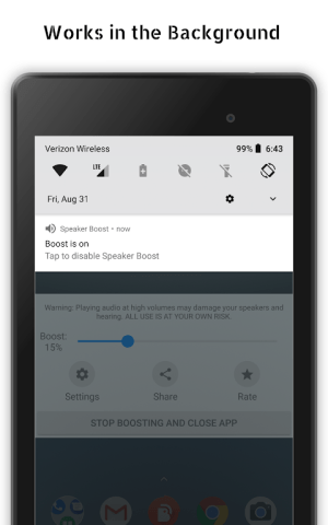 Speaker Boost: Volume Booster & Sound Amplifier 3D 3.0.15 Screen 11