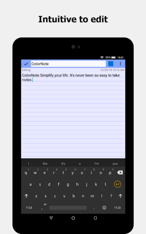 ColorNote Notepad Notes To do 4.2.5 Screen 6
