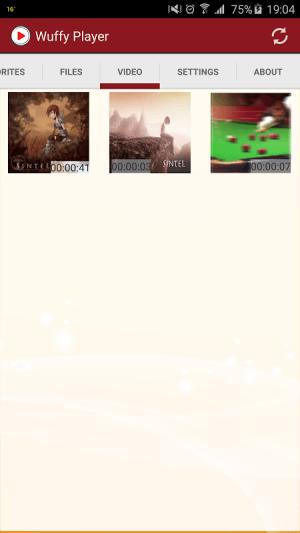 Wuffy Media Player 3.2.1 Screen 7