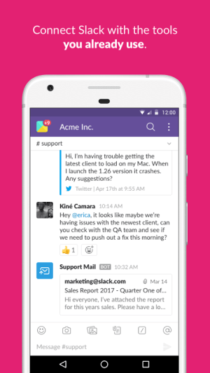 Slack 2.48.0 Screen 4