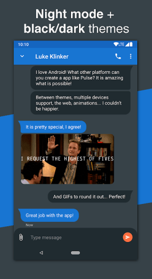 Pulse SMS (Phone/Tablet/Web) 4.6.2.2382 Screen 7