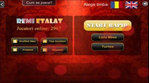 Android Rummy 45 - Remi Etalat Screen 2