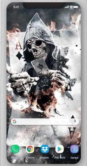 Android Skull Wallpapers and Backgrounds Screen 5