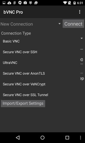 bVNC Pro: Secure VNC Viewer v4.0.7 Screen 11