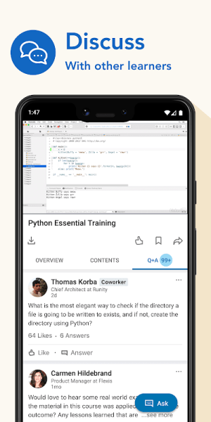 LinkedIn Learning: Online Courses to Learn Skills 0.150.0 Screen 2