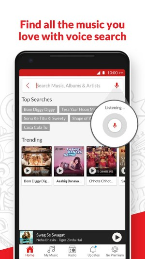 Android Wynk Music - Download & Play Songs, MP3, HelloTune Screen 6