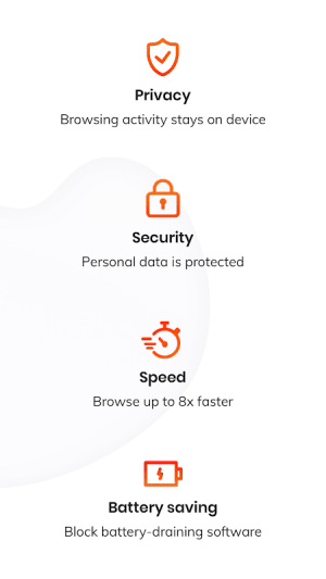 Brave Privacy Browser: Fast, safe, private browser 1.5.4 Screen 1