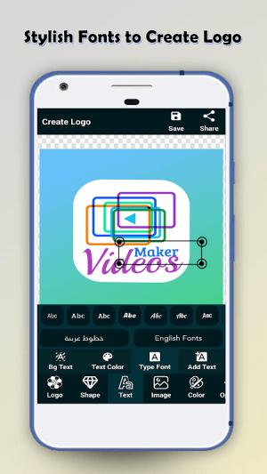 Logo Maker - Logo Creator & Poster Maker New Version Screen 1