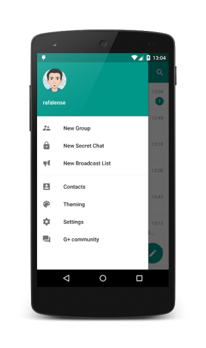 Plus Messenger 6.1.1.0 Screen 3