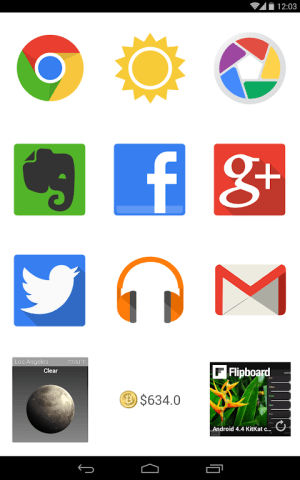 Android BIG Launcher Screen 7