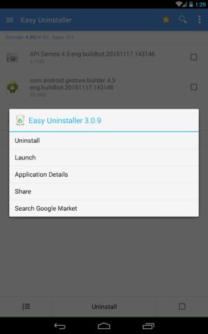 Easy Uninstaller App Uninstall 3.3.5 Screen 18