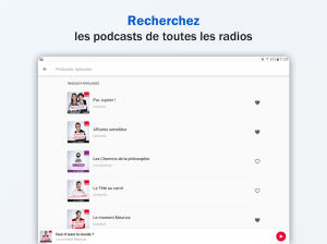 Radio France - podcasts, direct radios 5.18.0 Screen 7