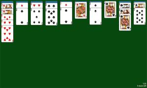 Spider Solitaire 1.05 Screen 7