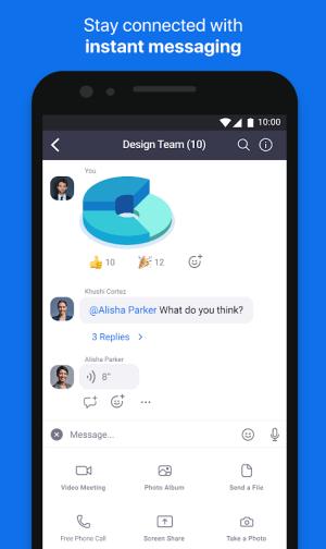 Android ZOOM Cloud Meetings Screen 10