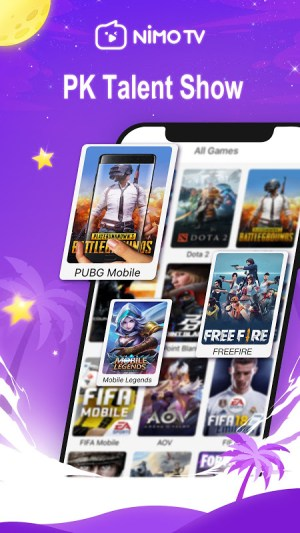 Android Nimo TV - Live Game Streaming Screen 1
