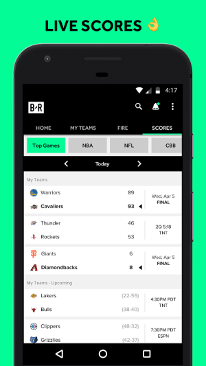 Bleacher Report 5.4.1 Screen 9